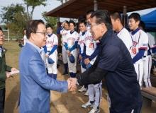 [구미]일본 오츠시청 공무원 야구단 구미방문