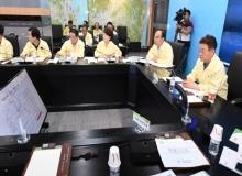 [경북도청]제5호 태풍 '다나스'대처상황 긴급 점검