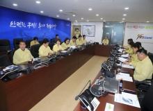 [구미]구미시의회, 태풍 대비 재난안전대책본부 긴급 방문