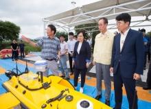 [구미]낙동강 녹조제어 통합 플랫폼 개발 및 구축사업 현장 점검
