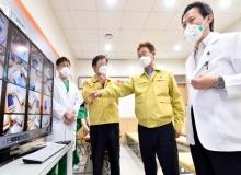[경북도청]이철우 경북도지사, '코로나19 대응 의료기관 현장' 방문