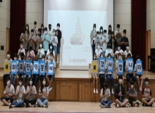 [경북교육]야은초, 코로나 의료진 응원 '덕분에 챌린지' 동참