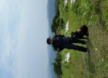 [경북소방]경북소방본부 인명구조견 '제우스', 80대 실종노인 구조