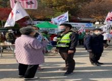 [구미]구미署, 대화경찰관 활약으로 시민불편 최소화 기여