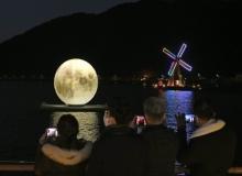[달성]송해공원에 달 떴소, 2개의 달을 보며 두 배 많은 소원을 이루세요!