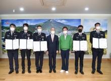 [경북경찰]경북도자치경찰위원회 출범 이후 첫 승진임용식 가져
