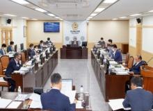 [경북의회]경북도의회 건설소방위, 2020회계연도 결산 심사
