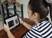 [경북도청]온두라스공화국 초중등 학생, 경북 웹툰으로 공부한다